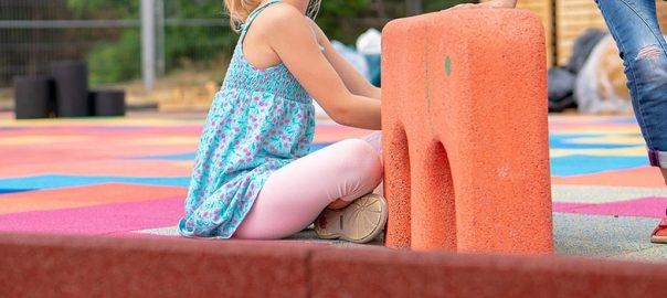 Varne podlage za otroško igrišče