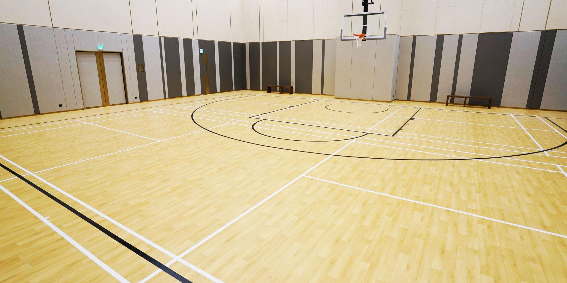 Športni parketi, nogomet, rokomet, košarka, dvorana