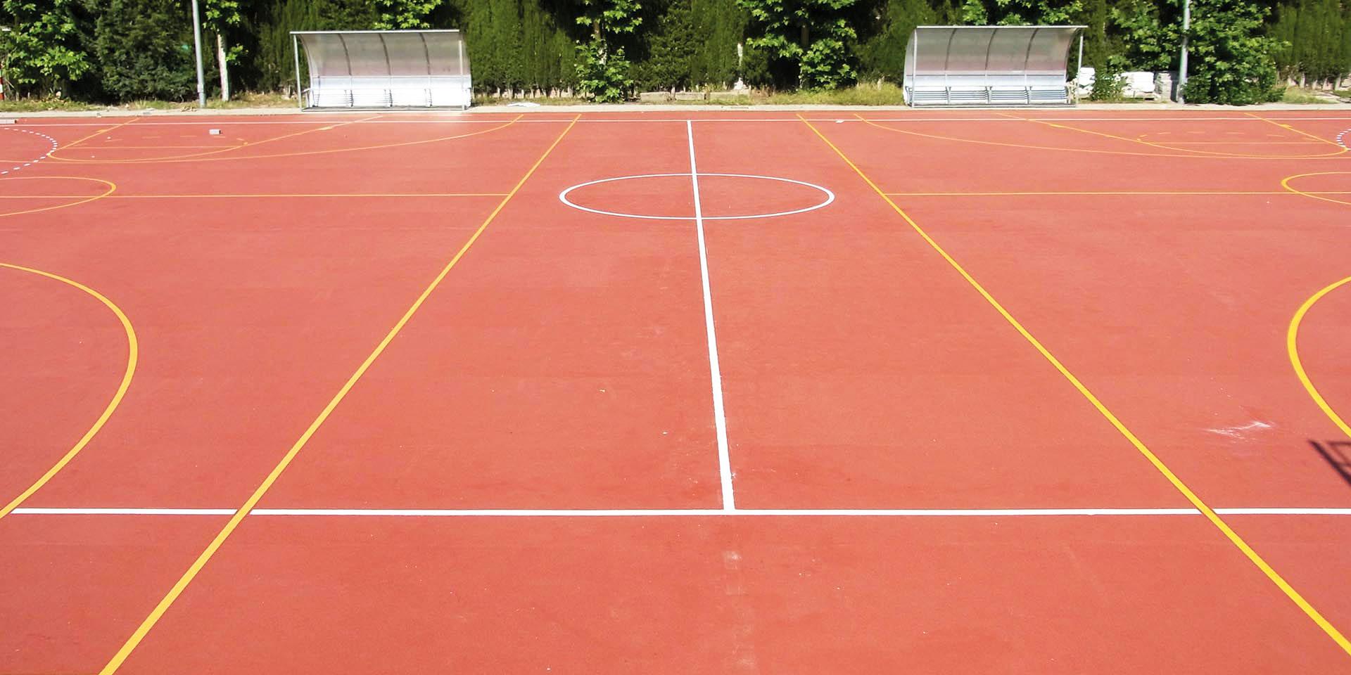 Športne talne obloge tenis nogomet zunaj
