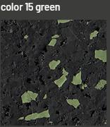 Kraiburg podlaga, barvna talna obloga, EPDM gumijasta talna obloga za šport, fitnes tla, športni pod, EPDM delci